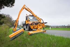 Mulag MKM700 Kombinationsmaehgeraet Unimog