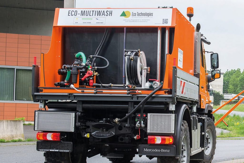 Ecotech Pritschenaufbau Unimog