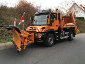 Neuer UNIMOG U530L der Gemeinde Roßdorf