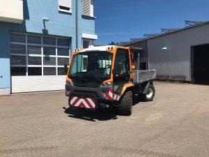Unitrac 122 L-Drive der Gemeinde Schmelz