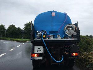 Neue HEN Gießanlage 5.000L mit ECOTECH Gießarm GA 5 der Stadt Ober-Ramstadt im Landkreis Darmstadt Dieburg